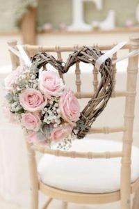 Idéias para casamento rústico chic cadeira