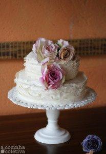 Casamento Simples Bolo de Casamento