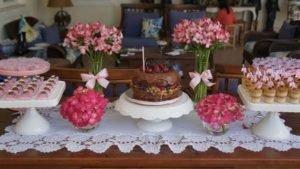 Casamento Simples Bolo Naked Cake