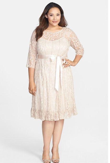Vestido de noiva para baixinhas.