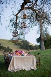 Dicas de casamento para um dia inesquecível retrô e vintage gaiola