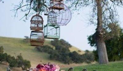 Dicas de casamento retro para um dia inesquecível retrô e vintage gaiola