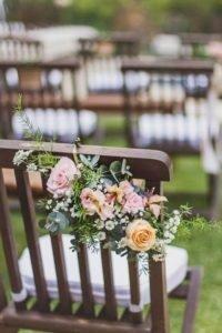 casamento ao ar livre - cadeiras