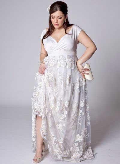 Vestido de noiva para gordinhas