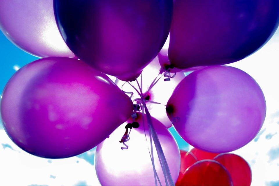 Decoração de Casamento - Balões